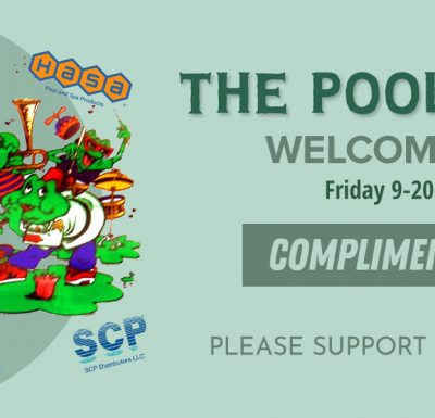The PoolMan Band Ticket Design